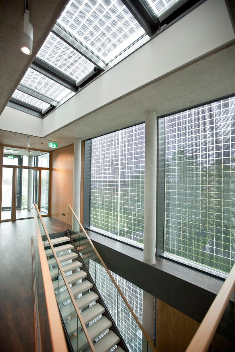 SOLAR LAMINATED GLASS ON WINDOWS AND SKYLIGHT