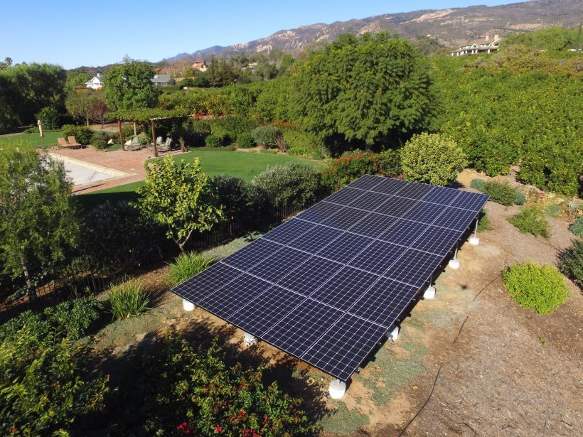 9.8 KW GROUND-MOUNTED SOLAR SYSTEM