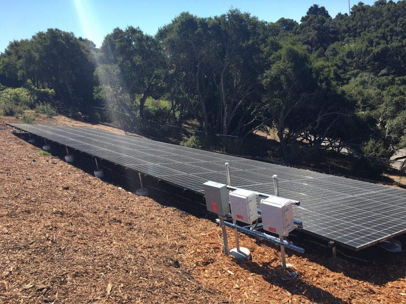 21 KW GROUND-MOUNTED SOLAR SYSTEM