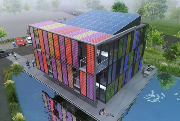 Design paired with solar energy