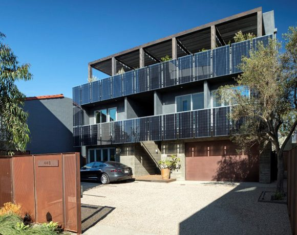 21 Kilowatt Rooftop and Facade-mounted Solar System | Santa Barbara, CA