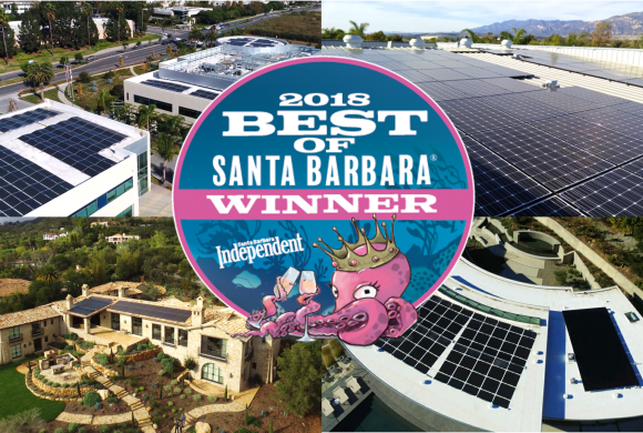 Brighten Solar is the Santa Barbara Independent's Best Solar Company!