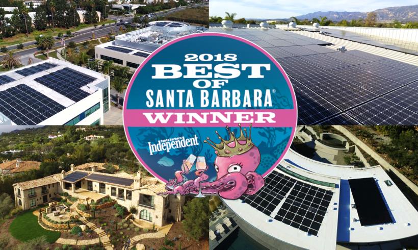 Brighten Solar is the Santa Barbara Independent's Best Solar Company!