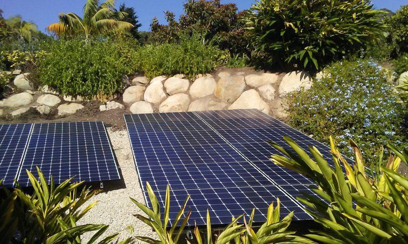 23 Kilowatt Ground-mounted Solar System | Hope Ranch, CA