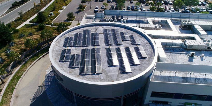 393 Kilowatt Ballasted Solar System | Deckers Brands, Goleta
