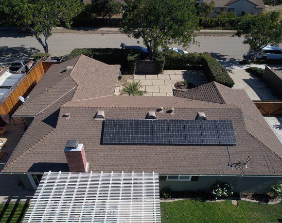 2.8 Kilowatt Solar System on Asphalt Shingle Roof | Goleta, CA