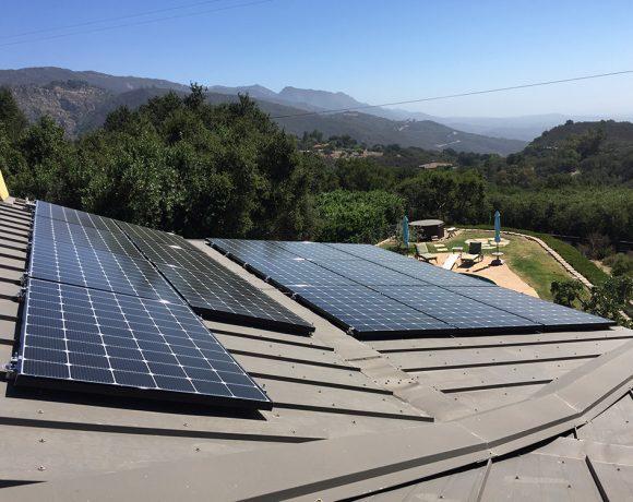 5.36 Kilowatt Solar System on Metal Standing Seam Roof | Santa Ynez, CA