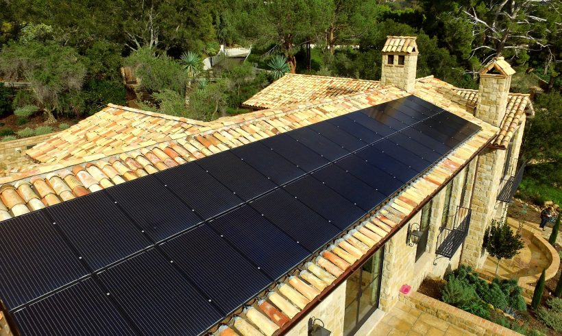 9.72 Kilowatt Rooftop Solar System on Clay Tile Roof | Montecito, CA