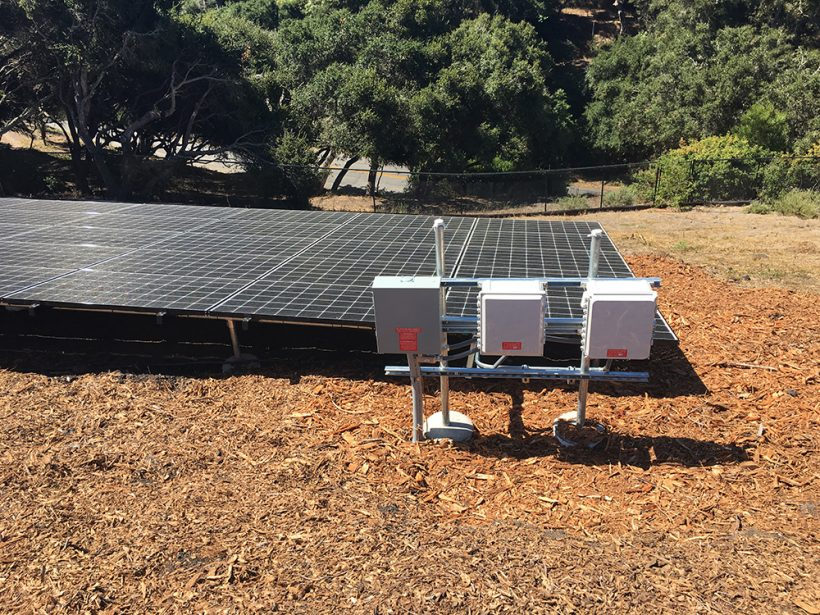 22 Kilowatt Ground-Mounted Solar System | Hope Ranch, CA