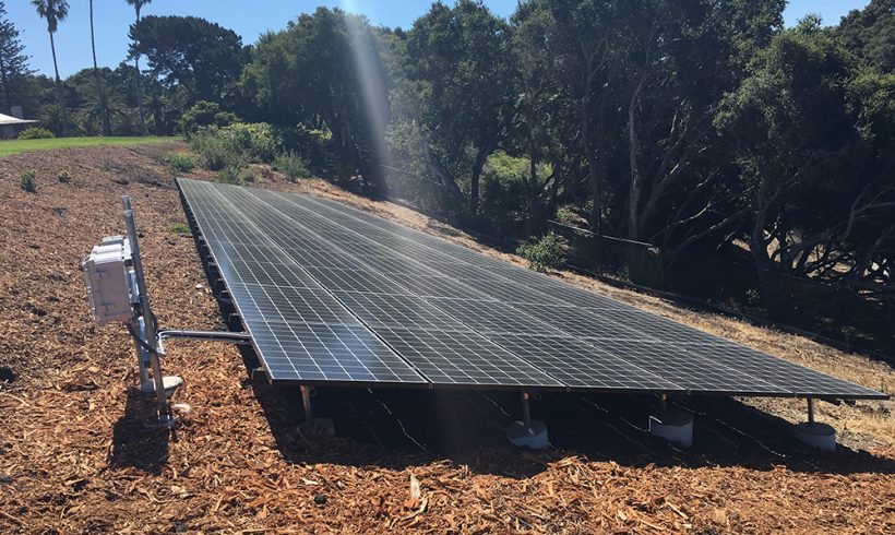 22 Kilowatt Ground-Mounted Solar System | Hope Ranch, CA