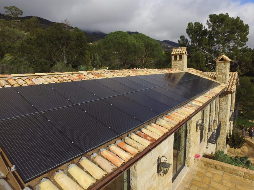 9.72 KW ROOFTOP SOLAR SYSTEM ON SPANISH TILES ROOF