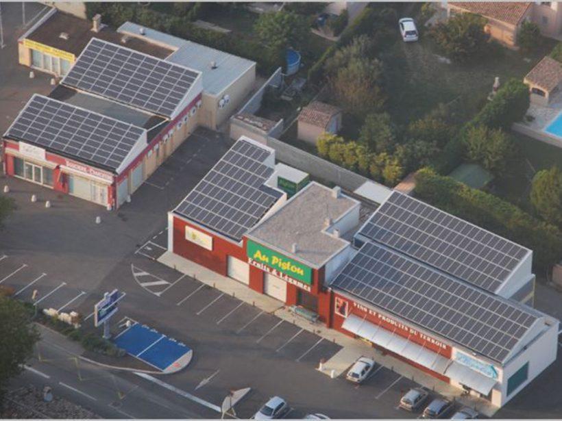 71 Kilowatt Solar PV System | Pistou Grocery Store