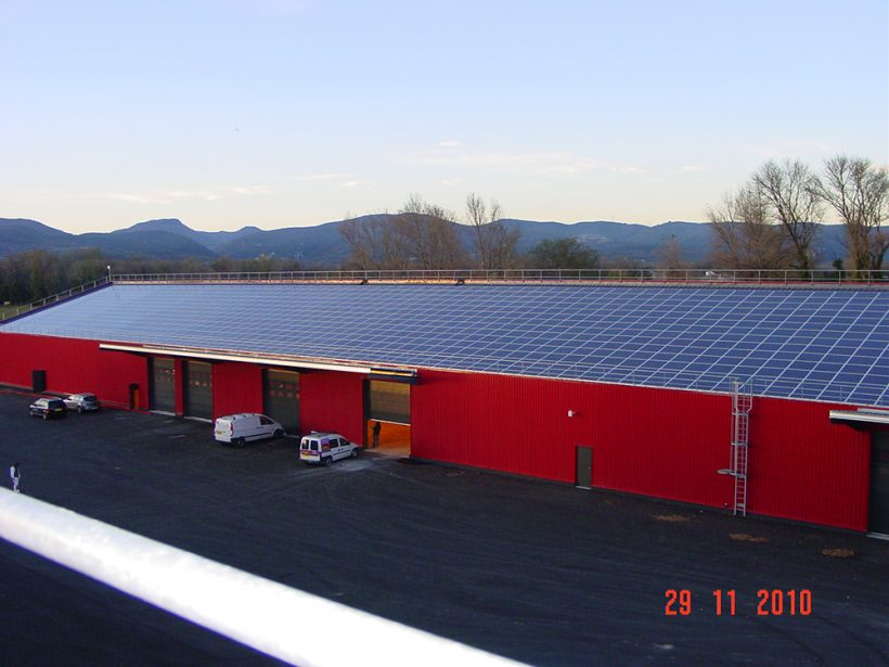 343 Kilowatt Solar PV System | Roselect Industrial Warehouse