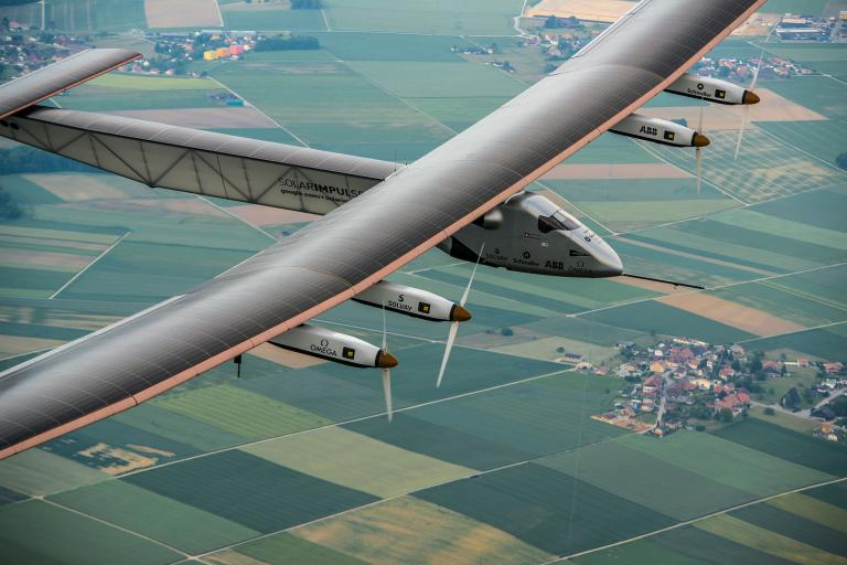 Pictures From an Epic Solar Flight Around the World