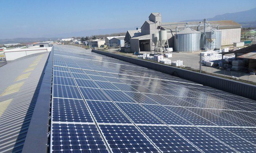 105.35 Kilowatt Solar PV System | SoliradElec Industrial Building
