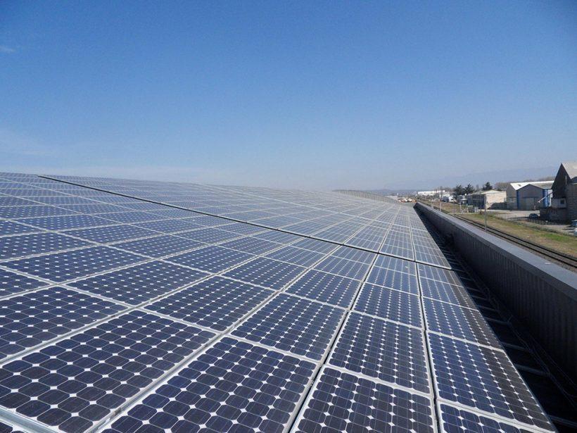 105.35 Kilowatt Solar PV System   SoliradElec Industrial Building